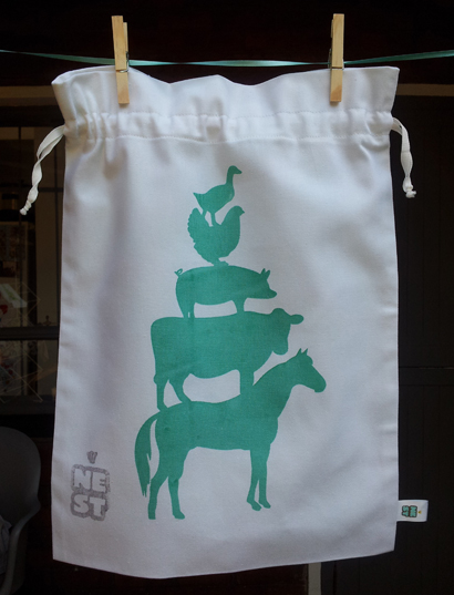 Farm Drawstrin Bag