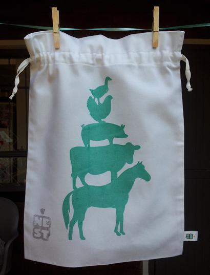 Farm Drawstrin Bag