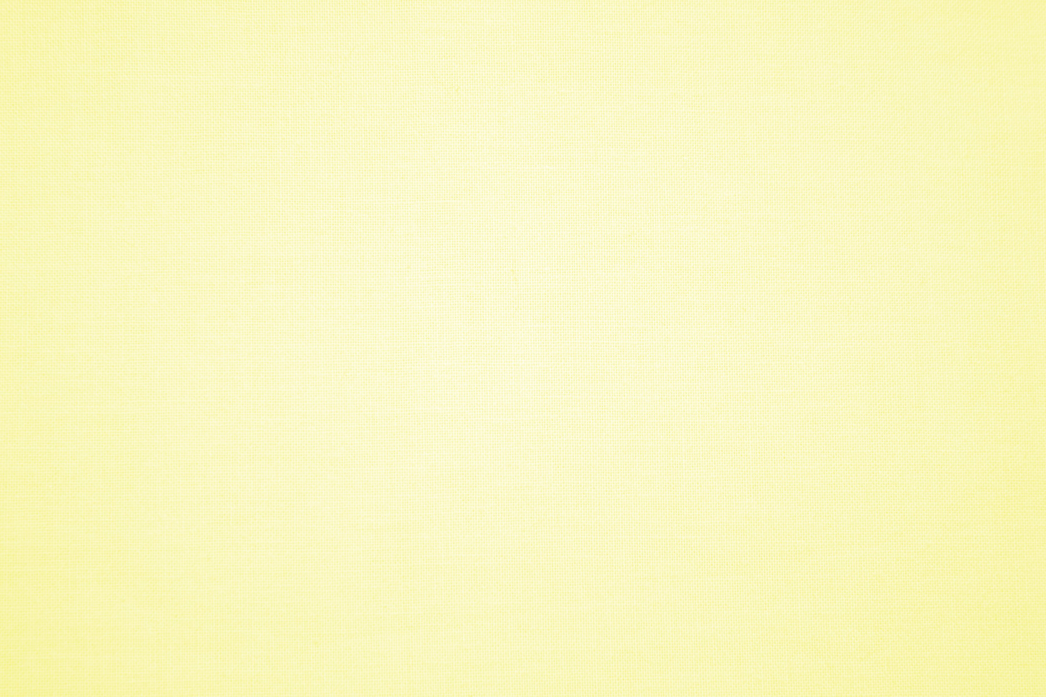 Pastel Yellow Canvas Fabric Texture 1