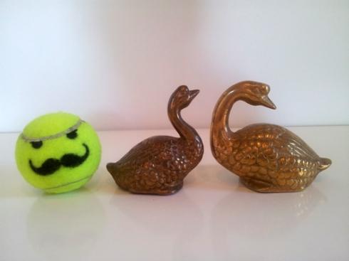 Brass Ducks