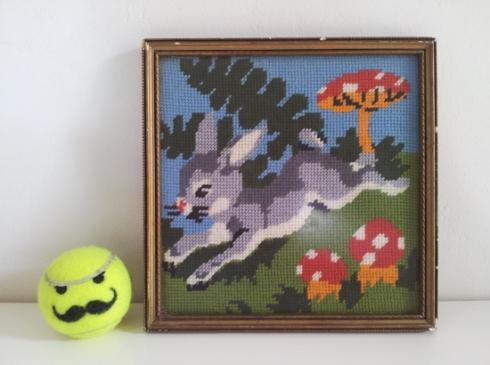 Bunny Tapestry