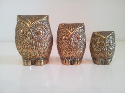 Brass Owls