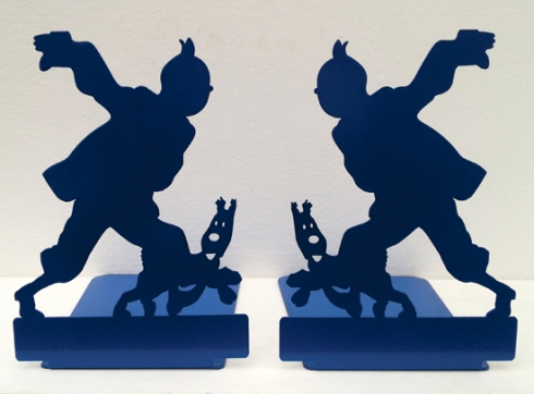 Tin-Tin Bookends