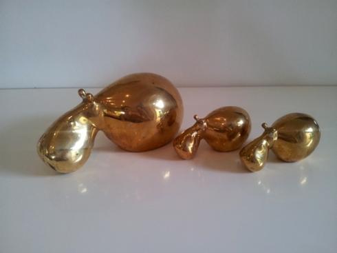 Brass Hippo's