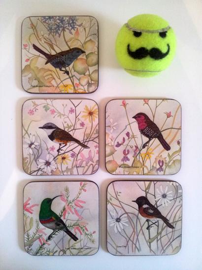 Bird Coasters