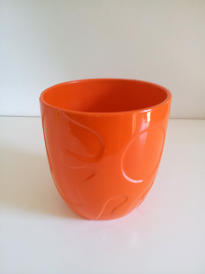 Retro Orange Planter