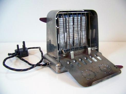 Vintage Flip Side Toaster
