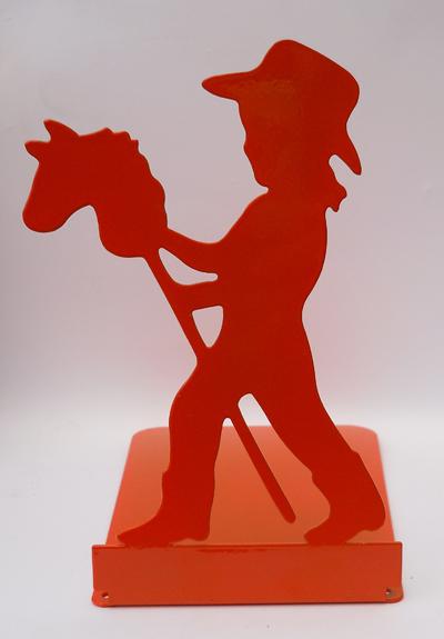 Vintage Girl Stick Horse