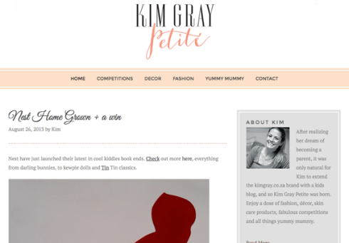 Kim Gray Clock Giveaway