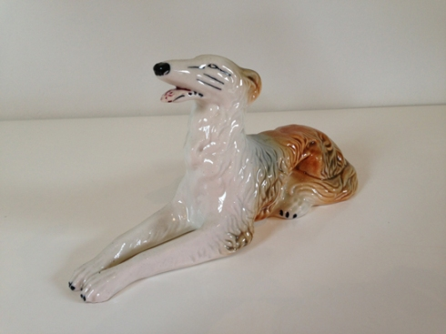 Borzoi/Wolfhound Figurine
