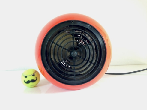 Retro Orange Ball Heater