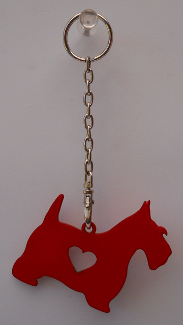 Scotty Dog Keyring