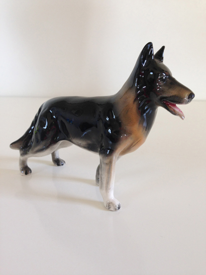 German Shepard Figurine