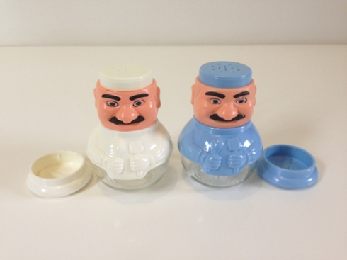Chef Salt & Pepper Shakers