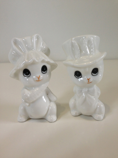 White China Bunnies
