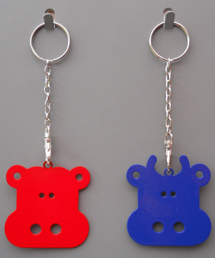 Bull & Cow Key Rings