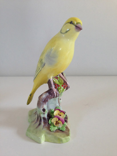 Staffordshire Yellow Bird