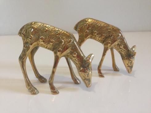 Brass deer