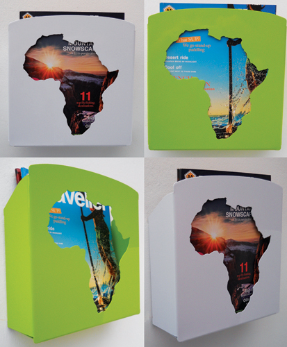 Africa Mag Rack