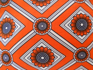 Makoti - Orange Sunflower Detail