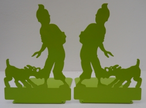 Tin Tin Bookend - Lime5