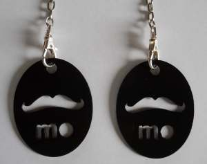 Moustache Keyrings