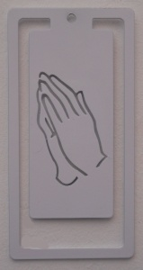 Bookmark - Praying Hands