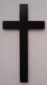 Cross Magnet Black