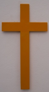 Cross Magnet Yellow